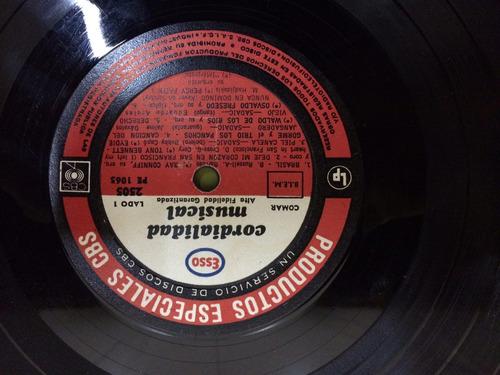 antiguo disco esso frank sinatra willians decoracion retro