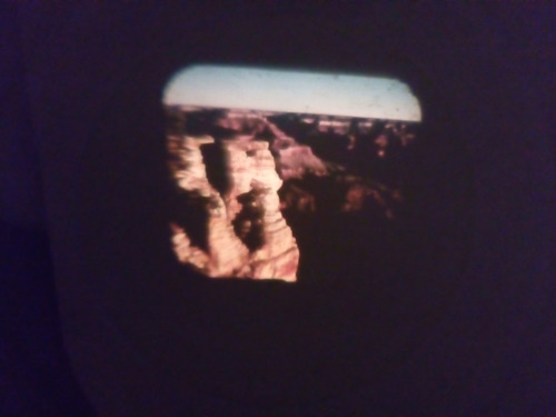 antiguo disco para visor view master gran cañon arizona usa