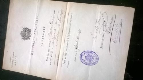 antiguo documento firma luis maria campos año 1878