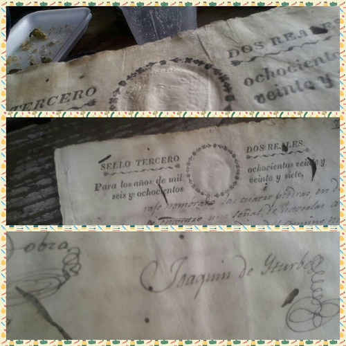 antiguo documento oaxaqueño