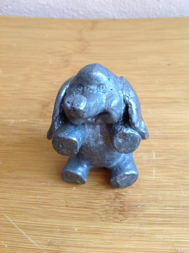 antiguo elefante de plomo