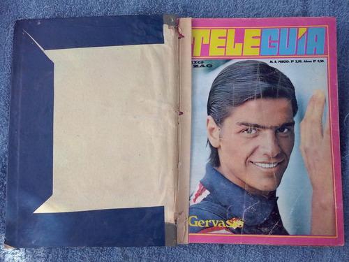 antiguo empastado tele guia-zig-zag-1968-1969
