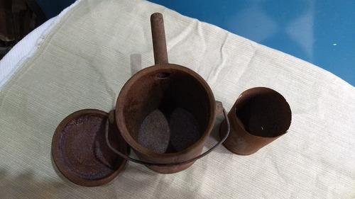 antiguo envase hormiguicida chimborazo fundicion de hierro