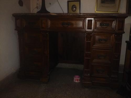 antiguo escritorio estilo renacimiento frances