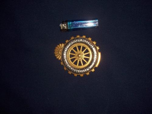 antiguo escudo o emblema del aca