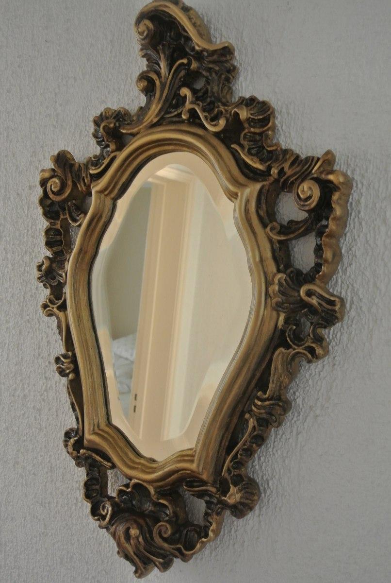 Antiguo espejo biselado marco de yeso en - Marcos espejos antiguos ...