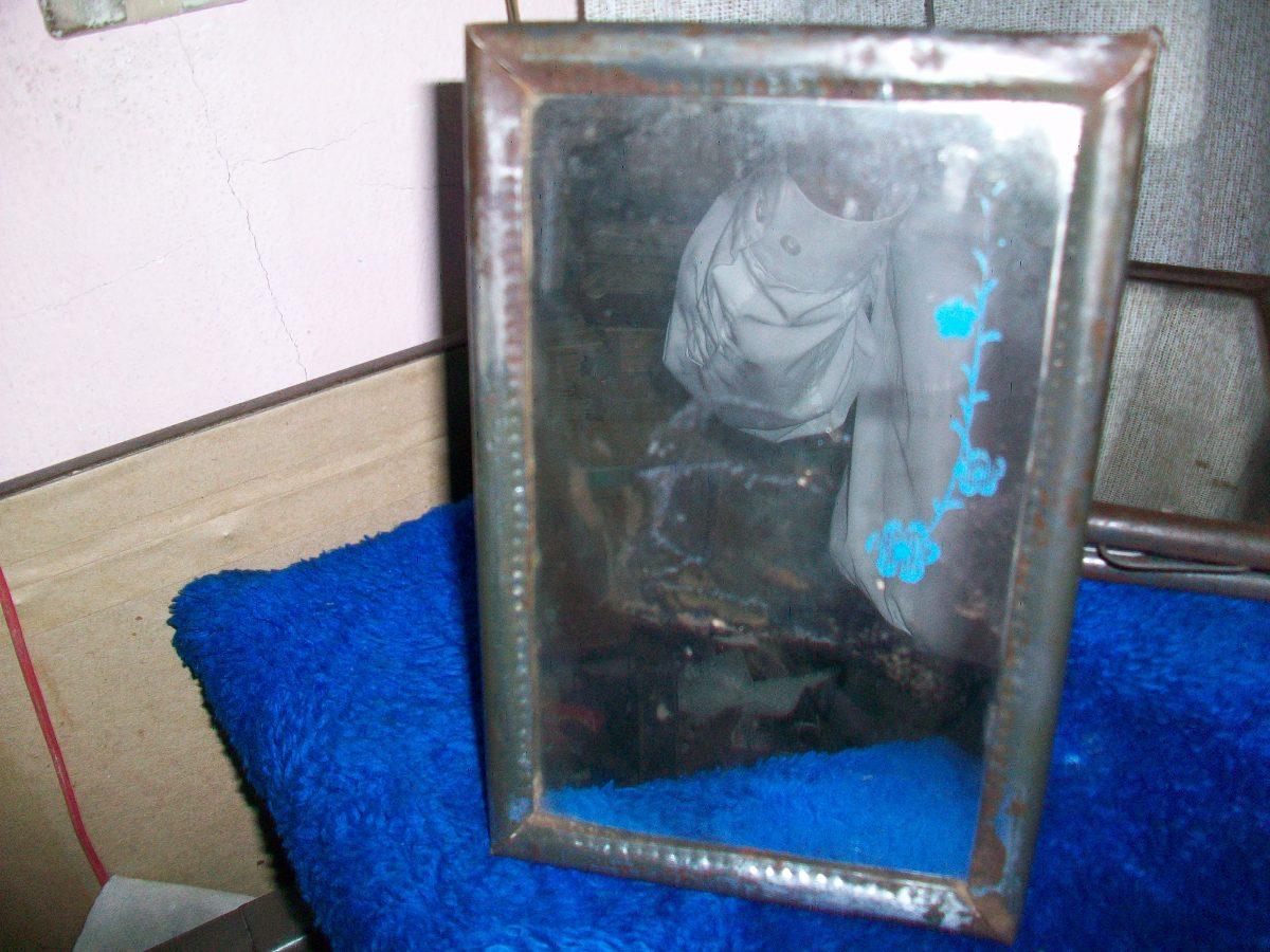 Antiguo Espejo En Marco De Lata, Mide 20 X 13 Ctms. - U$S 5,00 en ...
