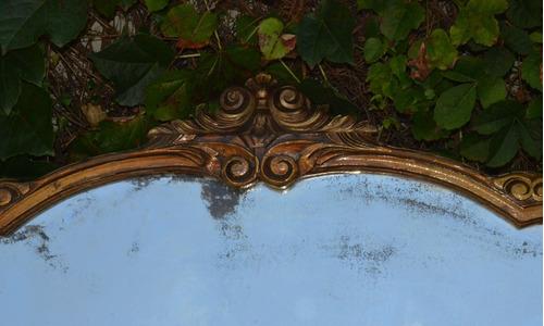 antiguo espejo provenzal cristal biselado 160x70  (7105)