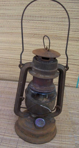antiguo farol alemán feuer hand 276 - quinke