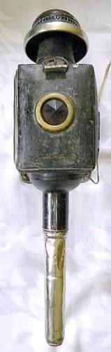 antiguo farol de carro  usado