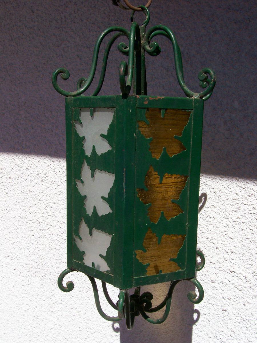 Faroles Antiguos Hierro Forjado - Iluminación Antigua en Mercado ...