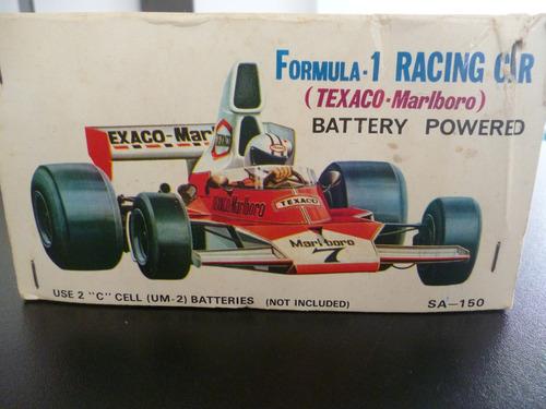 antiguo formula 1 texaco marlboro