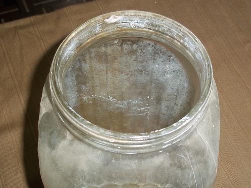 antiguo frasco caramelero de boliche bar almacen ramos gral
