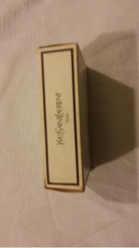 antiguo frasco con perfume yvessaintlaurent paris vintage