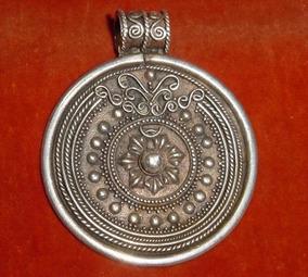 0afa20c14c69 Medallon Antiguo Sol 925 en Mercado Libre Argentina