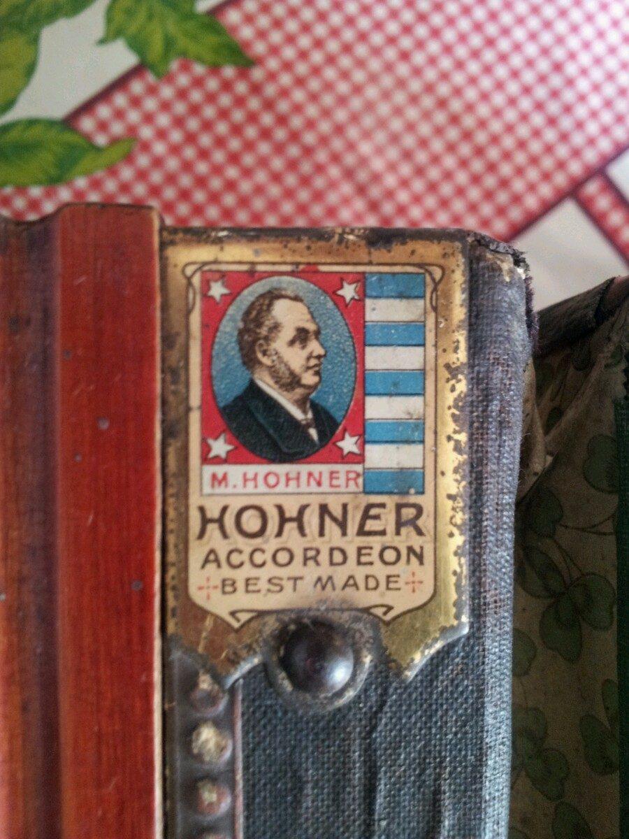 Antiguo Hohner Accordion Acordeon - $ 28,000.00 en Mercado
