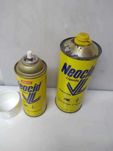 antiguo insecticida neocid- llenos,originales