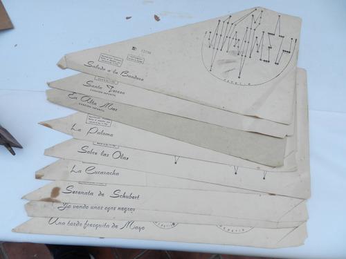 antiguo instrumento musical citara citarina a restaurar con caja aps
