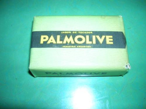 antiguo jabon palmolive  original tamaño baño