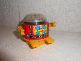 Metal Robot Plastico Antiguo Japones Ruleta 60s TcKJ3uFl1