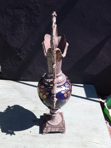 antiguo jarron anfora porcelana