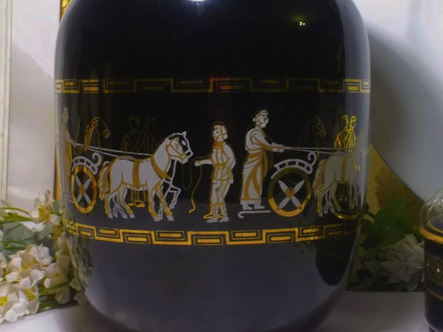 antiguo jarron de porcelana decoart