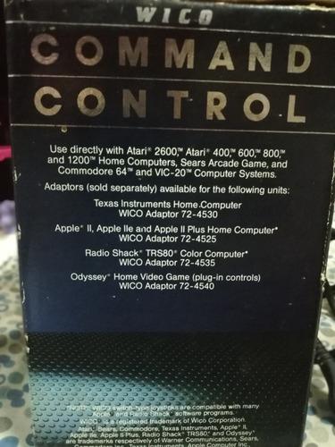 antiguo joystick atari arcade wico command control mando