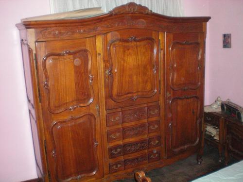 antiguo juego de dormitorio estilo provenzal
