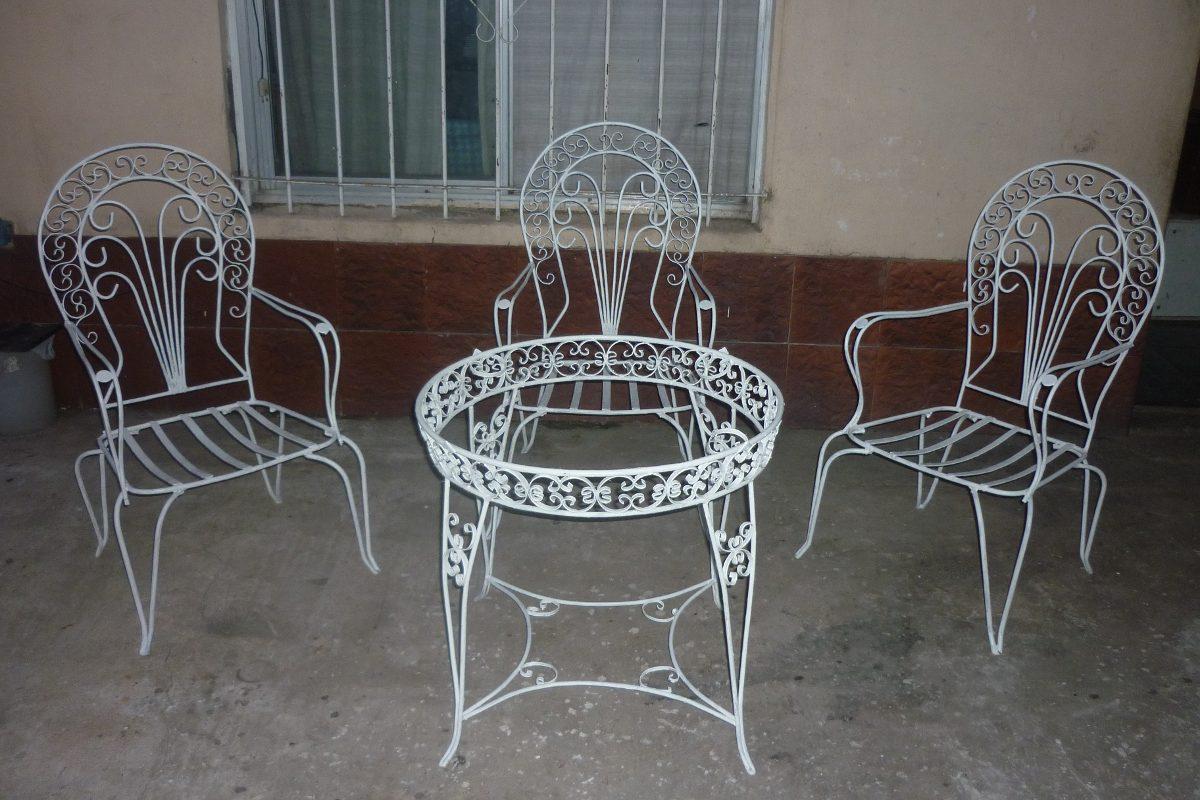 Emejing juegos de jardin hierro fundido gallery - Muebles de jardin ...