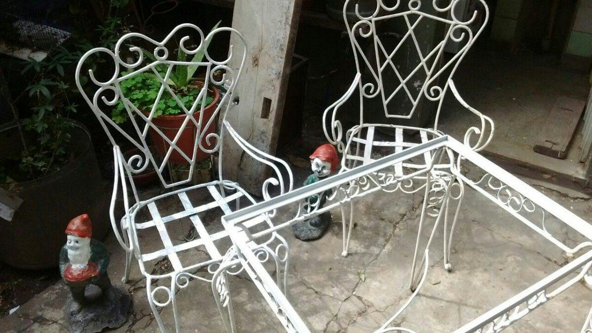 Charming Juegos De Jardin Hierro Fundido #1: Antiguo-juego-de-jardin-hierro-forjado-D_NQ_NP_759905-MLA25085633946_102016-F.jpg