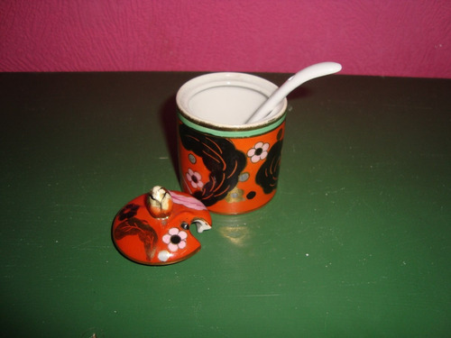 antiguo juego especiero de porcelana noritake
