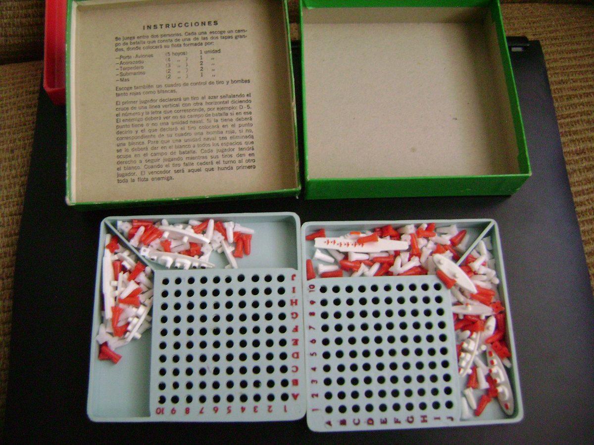 Antiguo juego mesa submarino con patente pendiente 460 for Ni si ni no juego de mesa