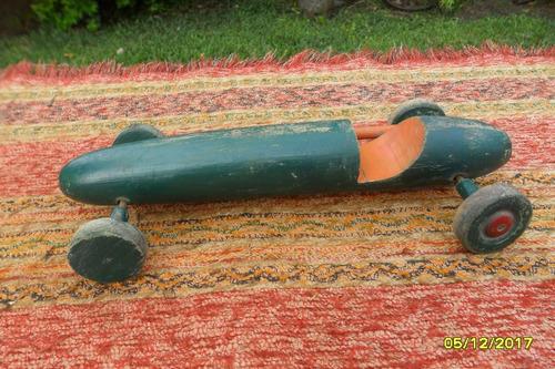antiguo juguete auto