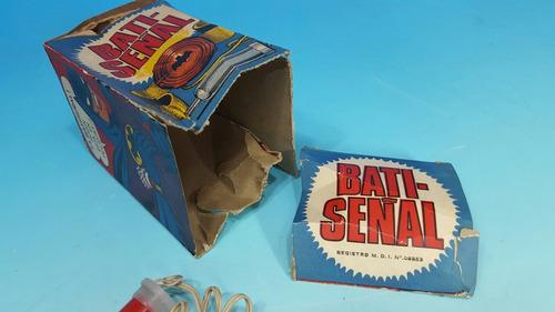 antiguo juguete batman batiseñal khanis