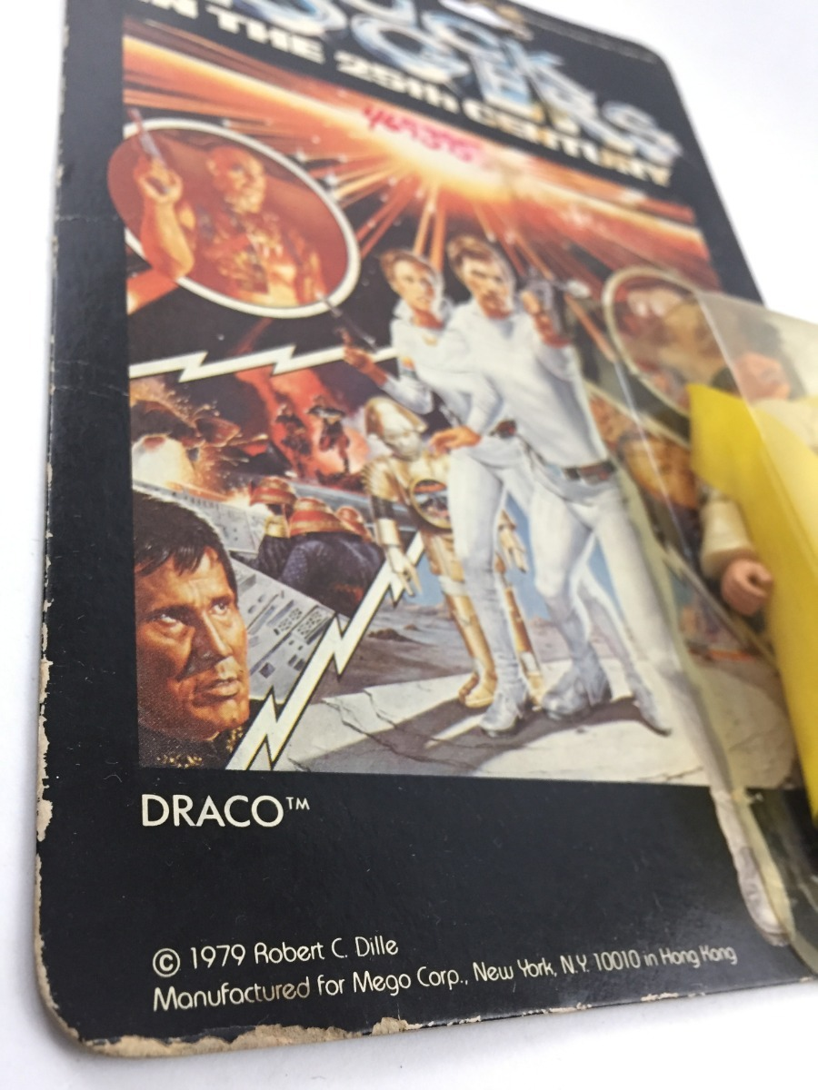 Antiguo Vintage Buck Juguete Draco Moc Rogers Figura 70's oxCdBe