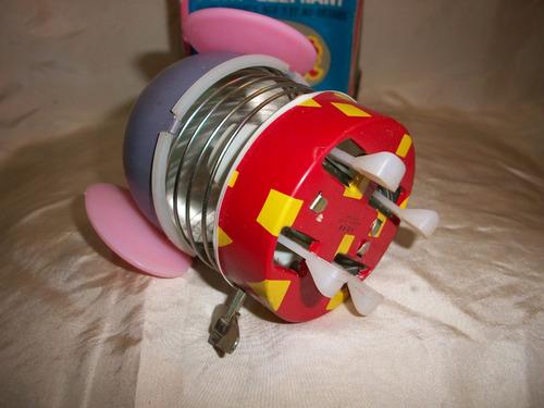 antiguo juguete elefante a cuerda caja original china