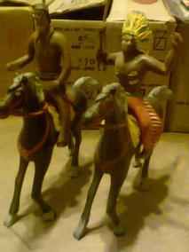 Toro Jefe Antiguo Y Kiosko Kxz Juguete Indio Caballos Retro A5RjLqc34