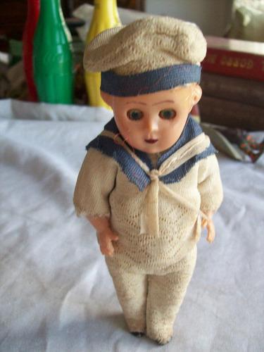antiguo juguete   marinero