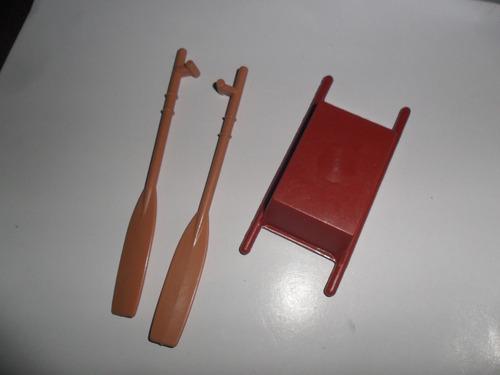 antiguo juguete playmovil geobra 1974 remo remos bandeja