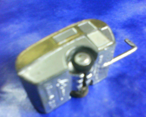 antiguo juguete shucco -casa rodante miniatura-germany 4 cm.