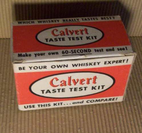 antiguo kit para desafiar expertos en whisky incluye 2 vasos