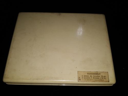 antiguo kit vanderbilt de baño jabon y locion 7 brujas