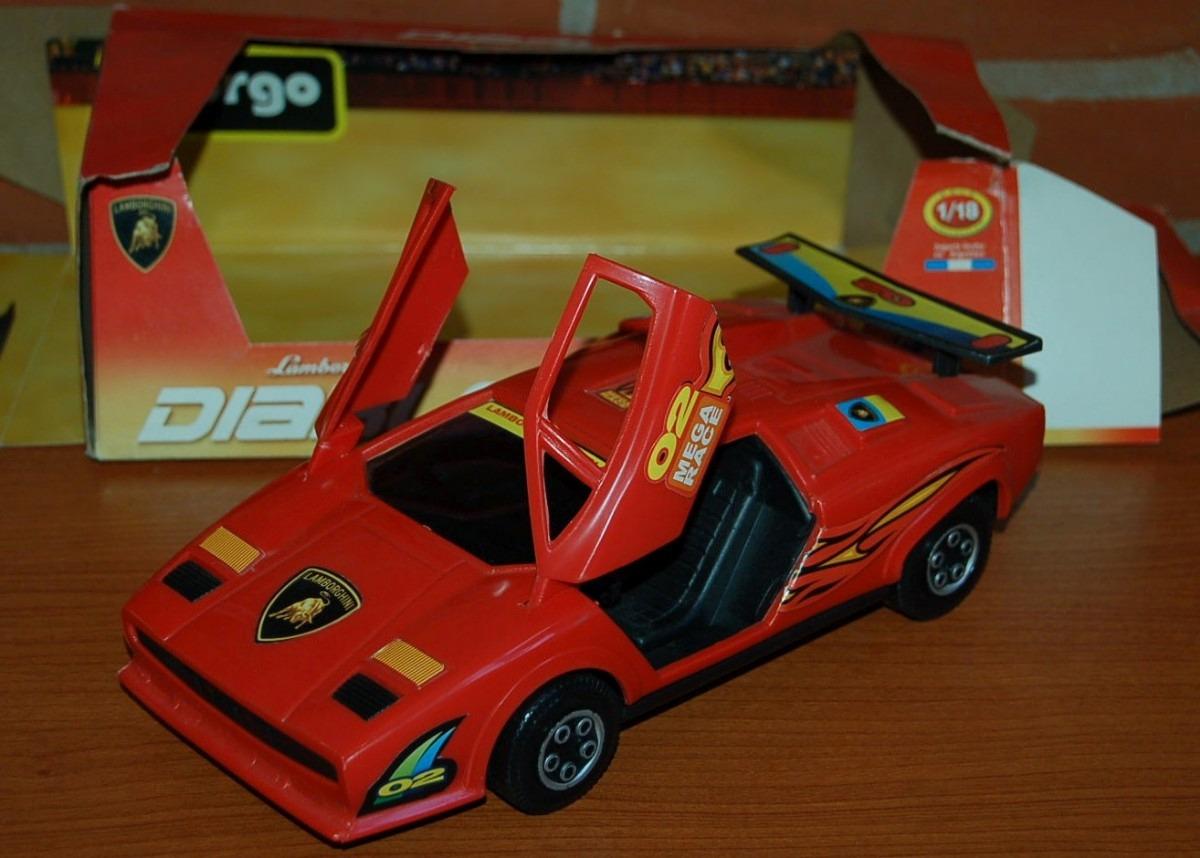 Antiguo Lamborghini Diablo Gorgo 1 18 Friccion Argentina Exc 990