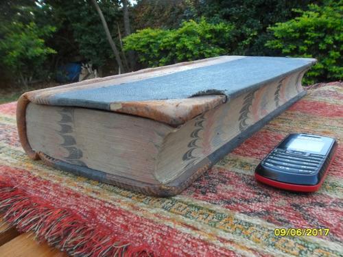 antiguo libro almacen ramos grales año 1929 764 pág 45x 20cm