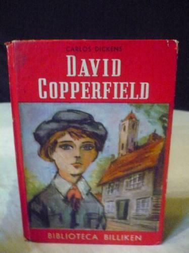 antiguo libro b.billiken david copperfield  carlos dickens