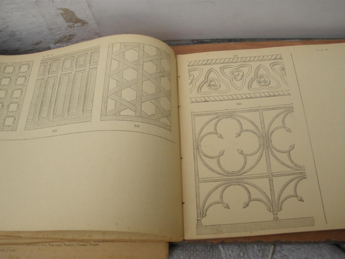 Antiguo Libro De Dibujo, En Frances, 1884, Claude