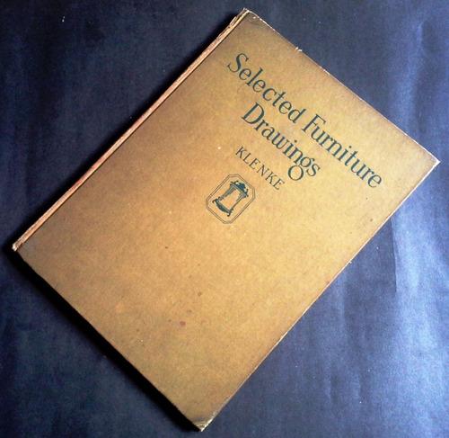 antiguo libro diseño muebles  selected furniture drawings