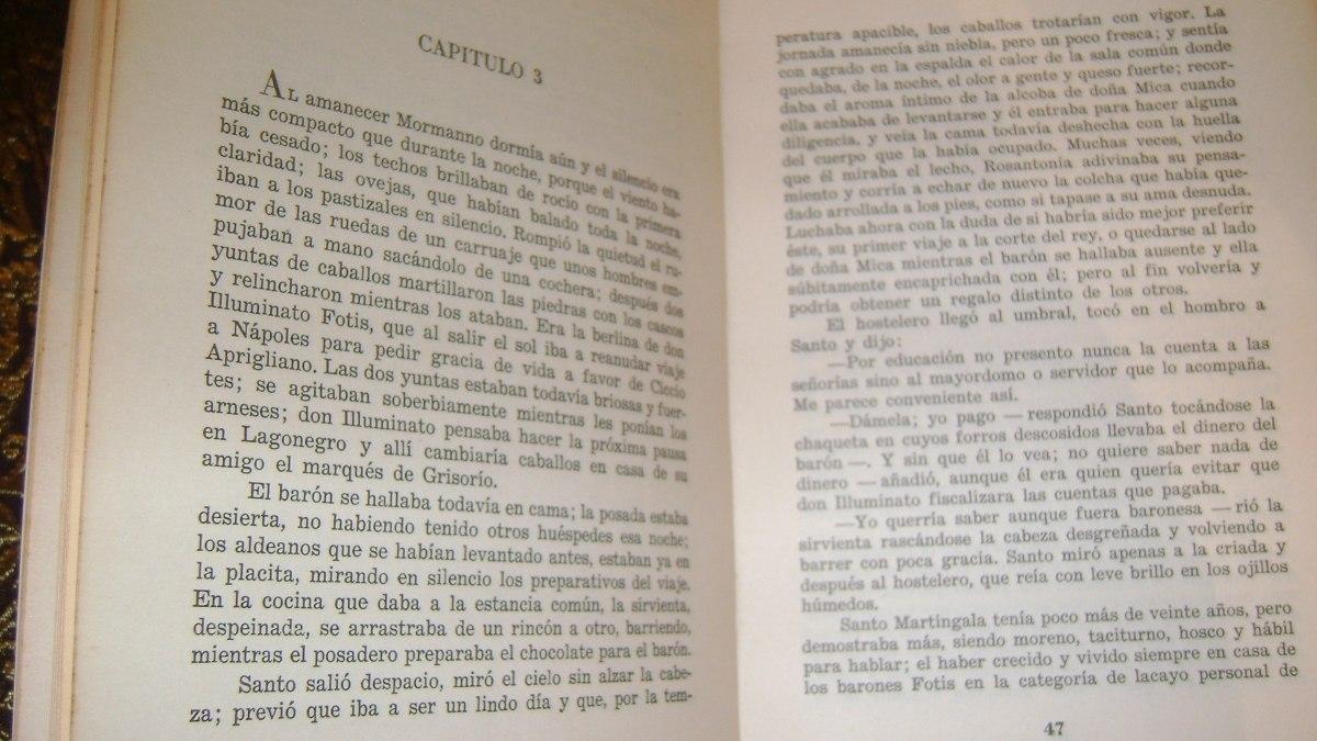Antiguo Libro El Señor Baron Gian Paolo Gallegari Ser 49.19 - $ 220 ...