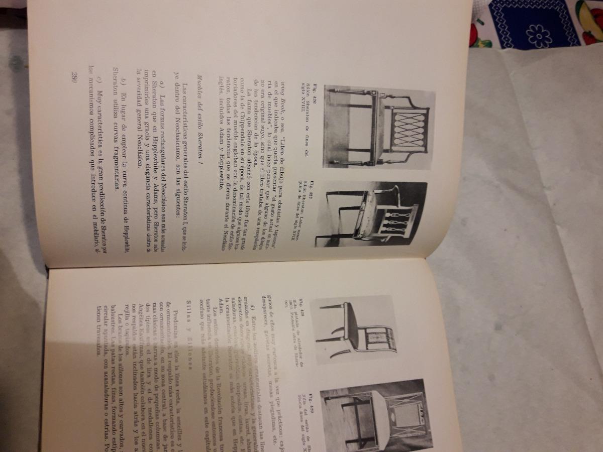 Antiguo Libro Estilo De Muebles Ceac 400 00 En Mercado Libre # Muebles Revolucion