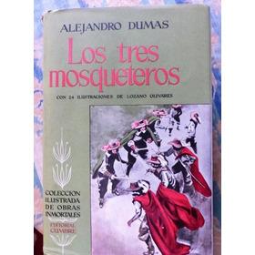 Antiguo Libro Los Tres Mosqueteros A Dumas 1954 Mexico